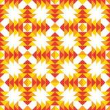 Ethnisches nahtloses Muster Amerikanischer Stammes- geometrischer Hintergrund Stockfotografie