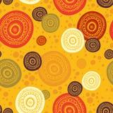 Ethnisches nahtloses Muster. Indische Verzierung. lizenzfreie abbildung
