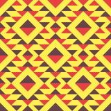 Ethnisches nahtloses Muster Stammes- geometrischer Hintergrund Lizenzfreie Stockbilder