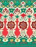 Ethnisches nahtloses Streifenmuster Vektorillustration für Ihr nettes Design Grenzen und Rahmen Stockfotos