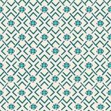 Ethnisches Stammes- geometrisches nahtloses Muster vektor abbildung