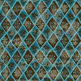 Ethnisches Stammes- geometrisches nahtloses Muster Stockbild