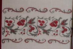 Ethno无缝的样式 种族乌克兰装饰品 部族艺术印刷品,反复性的背景 织品设计,墙纸 免版税库存照片