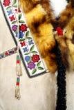 ethno织品模式 库存照片