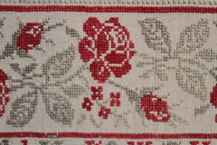 Ethno bezszwowy wzór Etniczny ukraiński ornament Plemienny sztuka druk, powtarzalny tło Tkanina projekt, tapeta Fotografia Stock