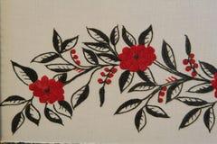 Ethno bezszwowy wzór Etniczny ukraiński ornament Plemienny sztuka druk, powtarzalny tło Tkanina projekt, tapeta Obraz Royalty Free