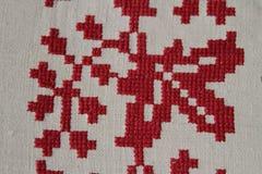 Ethno bezszwowy wzór Etniczny ukraiński ornament Plemienny sztuka druk, powtarzalny tło Tkanina projekt, tapeta Obrazy Stock