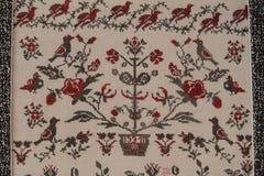 Ethno bezszwowy wzór Etniczny ukraiński ornament Plemienny sztuka druk, powtarzalny tło Tkanina projekt, tapeta Zdjęcia Royalty Free