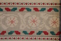 Ethno bezszwowy wzór Etniczny ukraiński ornament Plemienny sztuka druk, powtarzalny tło Tkanina projekt, tapeta Obrazy Royalty Free