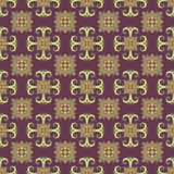 Ethno bezszwowy wzór Boho ornament elementu dekoracyjny rocznik Plemienny sztuka druk, powtarzalny tło Abstrakcjonistyczna kwieci Zdjęcia Royalty Free