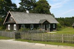 Ethno hus i Litauen Royaltyfri Bild