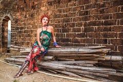 Ethno-mode stil Royaltyfri Fotografi