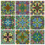 Ethno Pattern Set Royalty Free Stock Photos