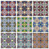 Ethno Pattern Set Royalty Free Stock Photography