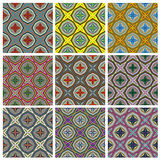 Ethno Pattern Set Royalty Free Stock Images