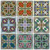 Ethno Pattern Set Stock Photos