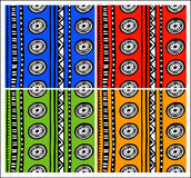 Ethno patterns Stock Images