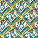 Ethno romb pattern Royalty Free Stock Image