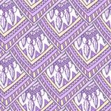 Ethno romb pattern Royalty Free Stock Photo