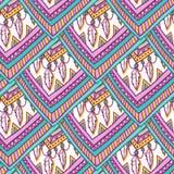 Ethno romb pattern Royalty Free Stock Image