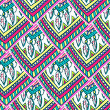 Ethno romb pattern Royalty Free Stock Photography