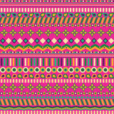 Ethno seamless pattern. Ethnic boho repeatable ornament. Tribal art background. Fabric design, wallpaper, wrapping Royalty Free Stock Photo