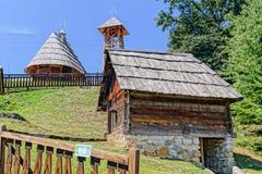 Ethno village Royalty Free Stock Photography