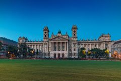 The Ethnographic Museum in Budapest Stock Images