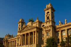 Ethnographic museum in budapest Royalty Free Stock Photo