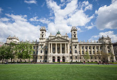 Ethnographic museum in Budapest, Hungary Royalty Free Stock Photography