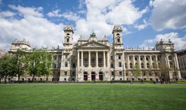 Ethnographic museum in Budapest, Hungary Stock Image