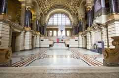 Ethnographic museum interior in Budapest, Hungary Royalty Free Stock Photos