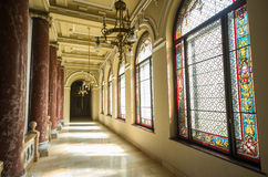 Ethnographic museum interior in Budapest, Hungary Royalty Free Stock Image