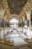 Ethnographic museum interior in Budapest, Hungary Royalty Free Stock Photography