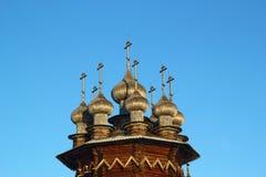 Ethnographic Museum-reserv Kizhi Arkivfoto