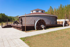 Ethnographic Museum in Ulan-Ude Stock Image