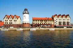 Ethnographic och handelmitt. Kaliningrad royaltyfri bild