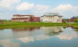 Ethnographic Park in Kaluga Stock Images