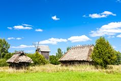 Free Ethnographic Park Of Russian Culture, Bialowieski National Park Stock Photography - 149061332
