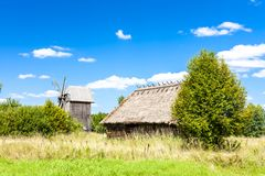 Free Ethnographic Park Of Russian Culture, Bialowieski National Park Royalty Free Stock Image - 149062016