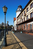 Ethnographic and trade center. Kaliningrad Stock Photos