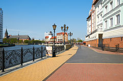Ethnographic and trade center. Kaliningrad Royalty Free Stock Photography