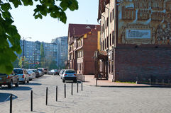 Ethnographic and trade center. Kaliningrad Royalty Free Stock Photos