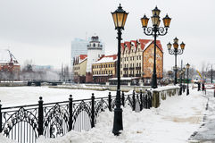 Ethnographic and trade center. Kaliningrad Stock Photography