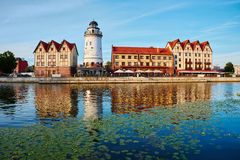 Ethnographic and trade center. Kaliningrad Stock Image