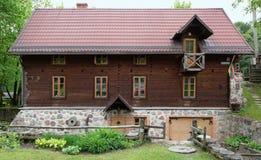 Ethnographisches Museum und ländliches Bad Stockfotografie