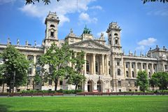Ethnography museum in Budapest city, Hungary. Ethnography museum in Budapest city, capital of Hungary Stock Photography