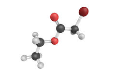 Ethyl bromoacetate, the ethyl ester of bromoacetic acid. It is a Royalty Free Stock Photography