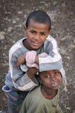Etiópia: Amigos para sempre Imagens de Stock Royalty Free