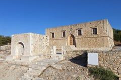 Etia village at Crete island, Greece Royalty Free Stock Photos